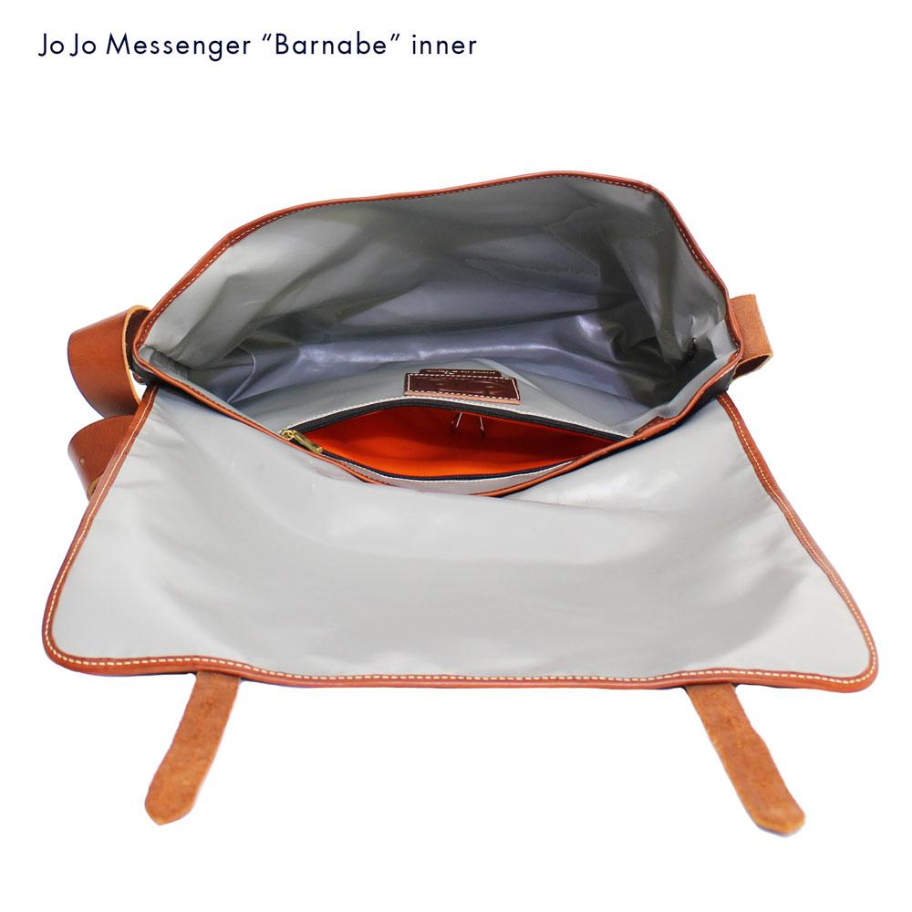 JOJO messenger (ジョジョ・メッセンジャー) - Barnabe (ショルダー・バッグ) (Brown/Tauny)