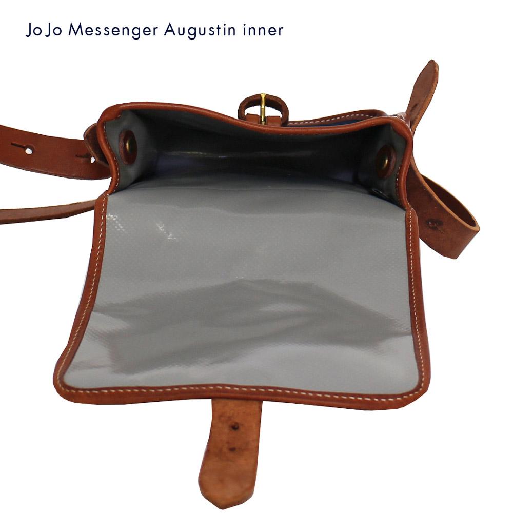 JOJO messenger (ジョジョ・メッセンジャー) - Augustin (ミニ・ショルダー・バッグ) (Navy/Tauny)