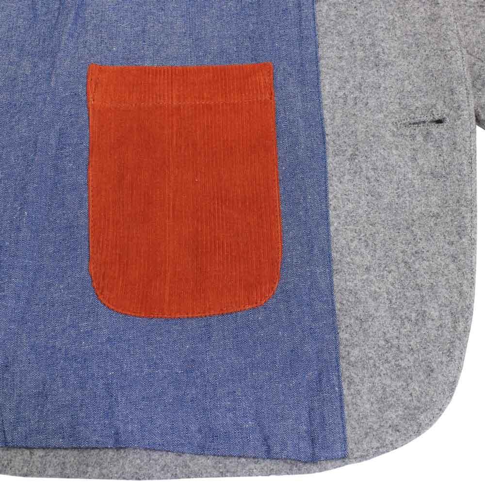 William Fox & Sons (ウィリアム・フォックス・アンド・サンズ) - Classic Blazer (ジャケット) (Grey)