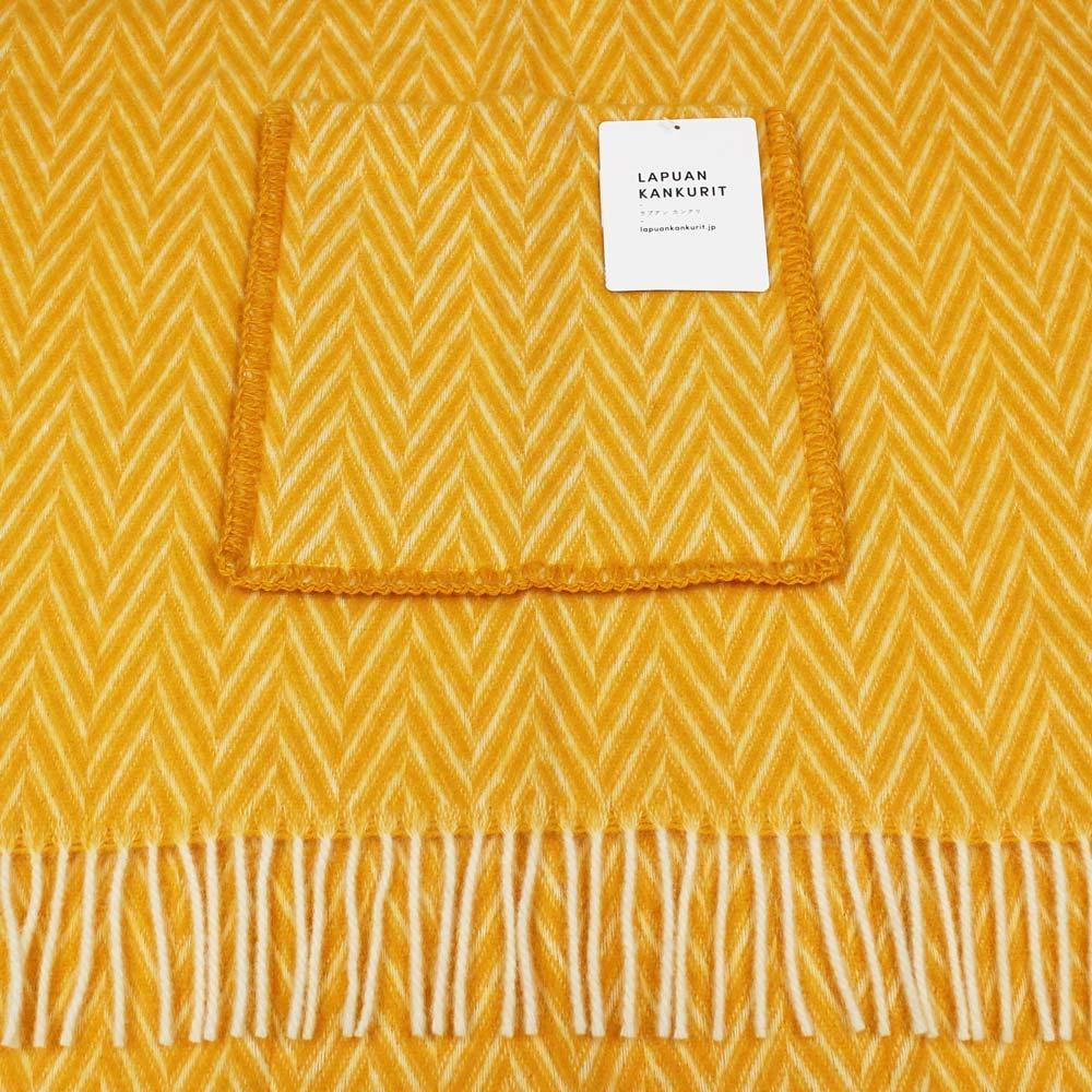 Lapuan Kankurit (ラプアン・カンクリ) - IIDA / Pocket Shawl (ショール) (Cloudberry/White)