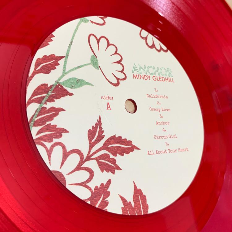 [大切なお知らせあり] Mindy Gledhill (ミンディ・グレッドヒル) - Anchor (アンカー) (New LP)