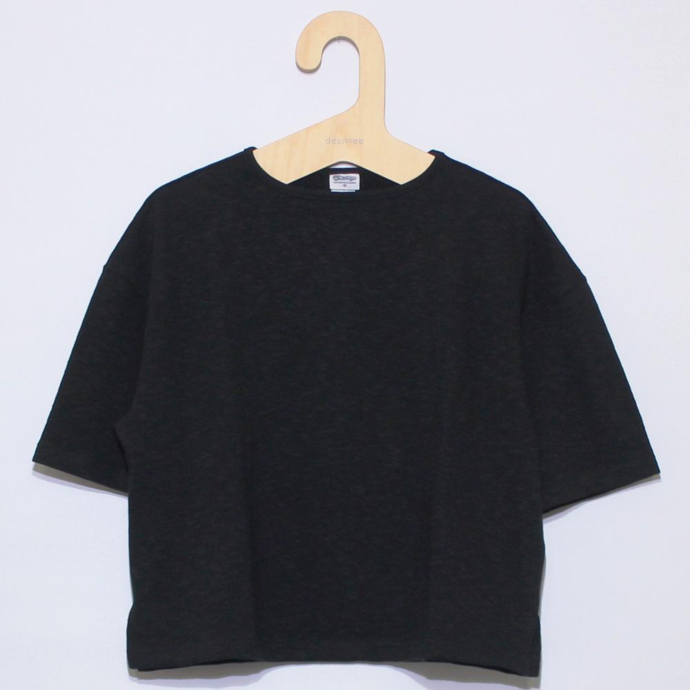 Tieasy AUTHENTIC CLASSIC (ティージー) - HDCS Katanuki D/S T (半袖シャツ) (Black)