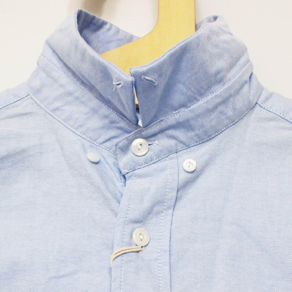 Tieasy Plus (ティージー・プラス) - Tieasy Plus Shirts (長袖BDシャツ) (Sax Oxford)