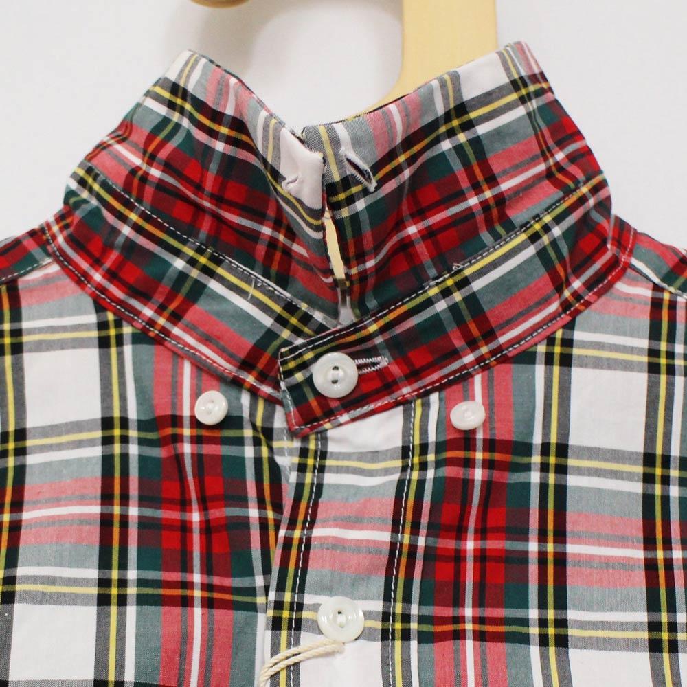 Tieasy Plus (ティージー・プラス) - Tieasy Plus Shirts (長袖BDシャツ) (Red Turtain Check)