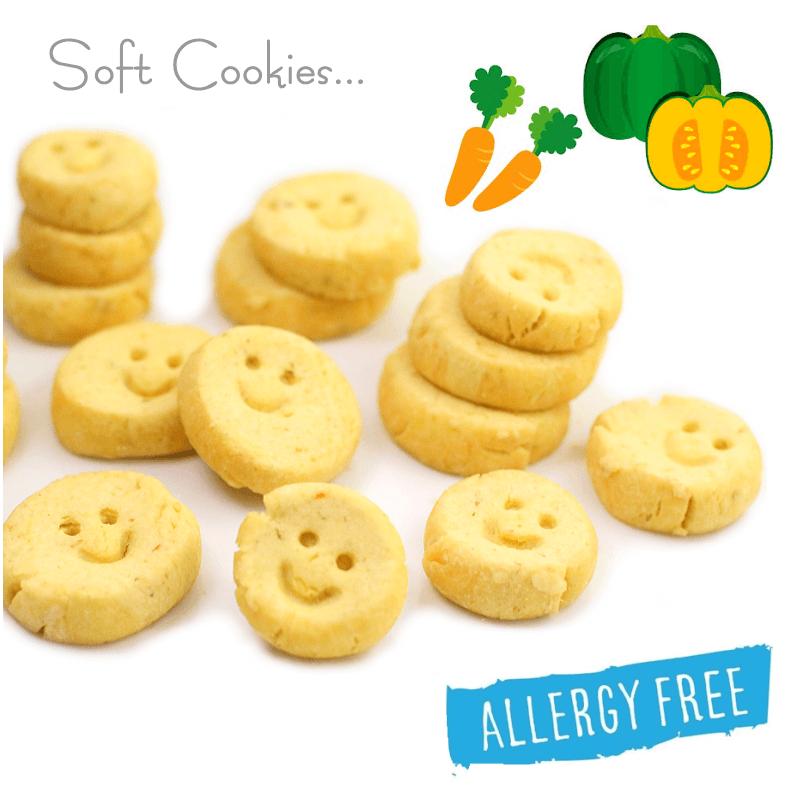 アレルギー対応★ELYのソフトクッキー♪Vegeカボチャ