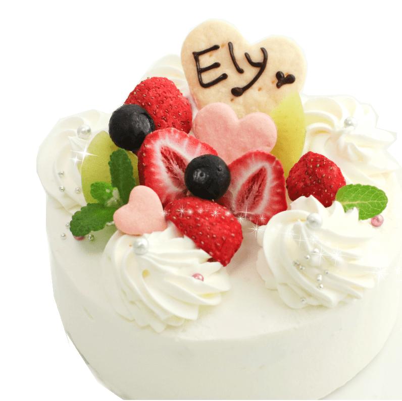 苺のハートDeco♪★冷凍便