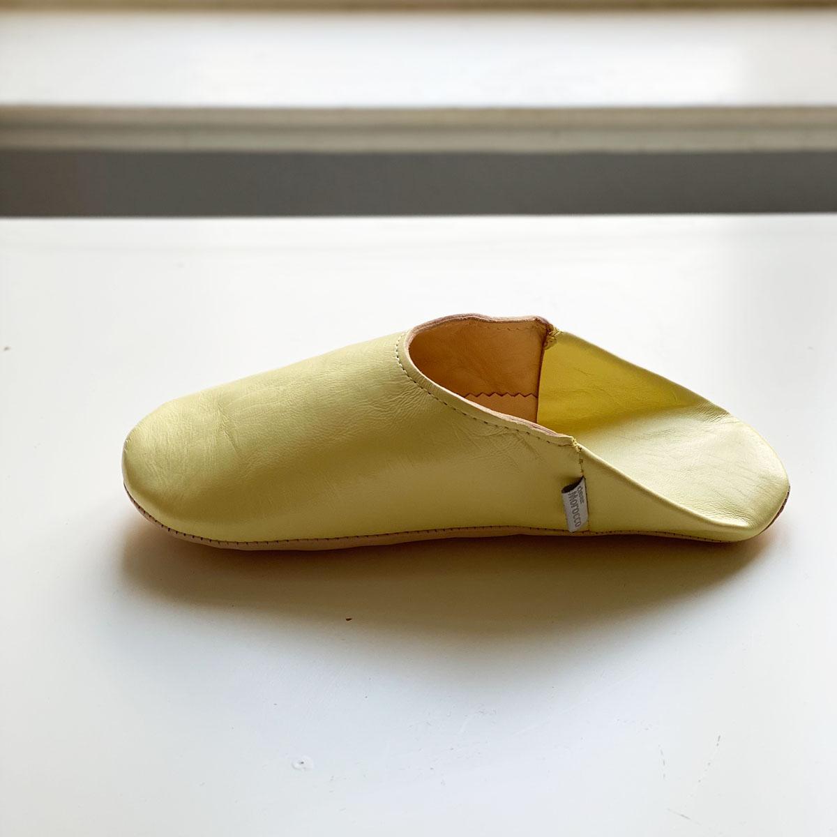 <<取り寄せ>>シンプルバブーシュ//ヴァニラ//LL (26 cm) //ディアモロッコ