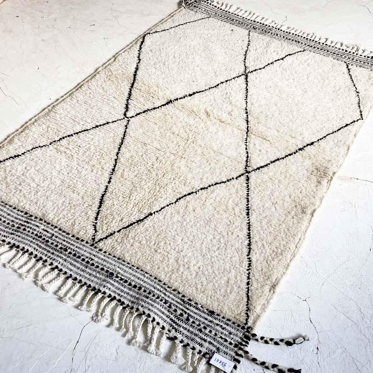 ベニワレン・モロッコラグ//KL10856 //153cm x 105cm// ディアモロッコ