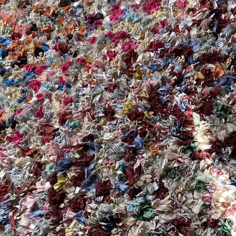 モロッコリサイクルラグ/ボシャラウィット//KL10883//200*100cm //ディアモロッコ