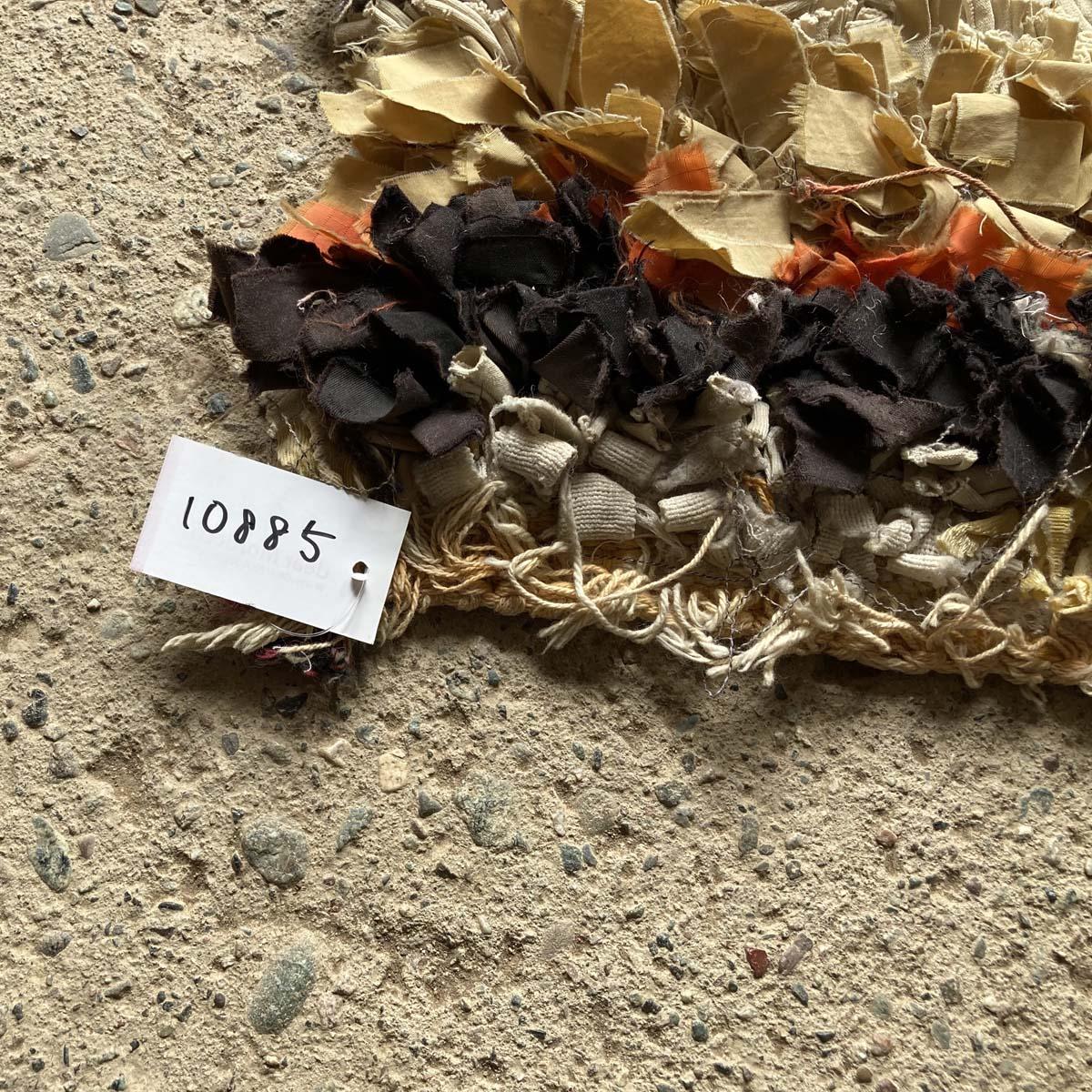 モロッコリサイクルラグ/ボシャラウィット//KL10885//110*64cm //ディアモロッコ