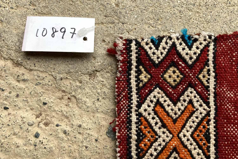 モロッコ・リサイクル・ラグクッションカバー// KL10897