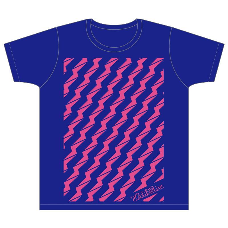ビリビリTシャツ (ネイビーブルー)