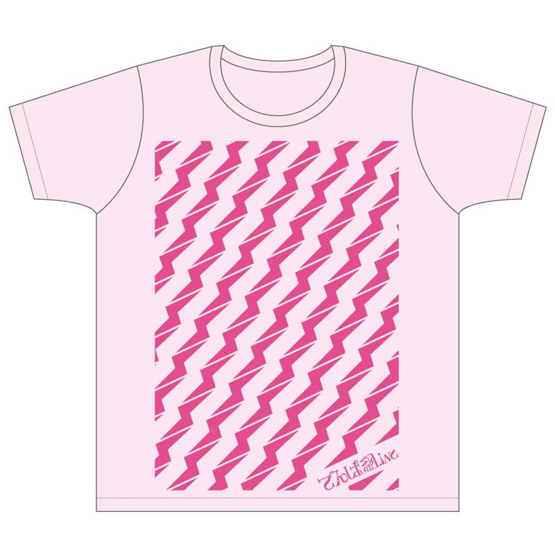 ビリビリTシャツ (パウダーピンク)