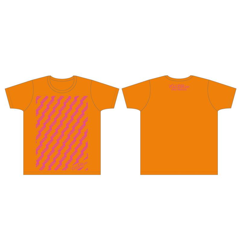 ビリビリTシャツ (オレンジ)