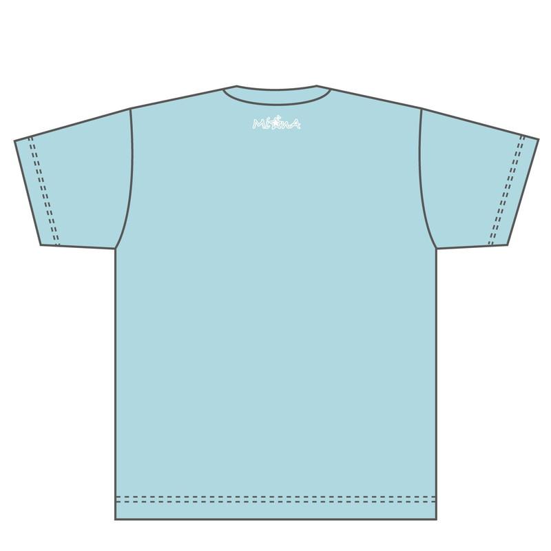 【Mi☆nA】Tシャツ ブルー