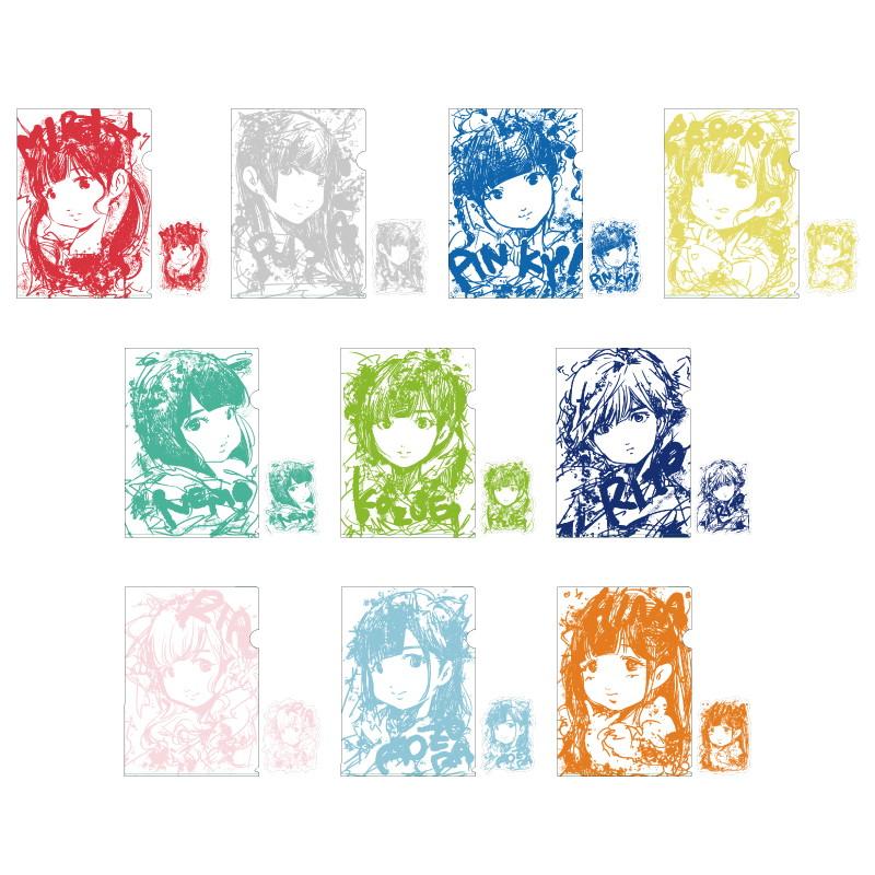 「Dear☆Stageへようこそ2021」クリアファイル&ステッカーセット【イラストver.】
