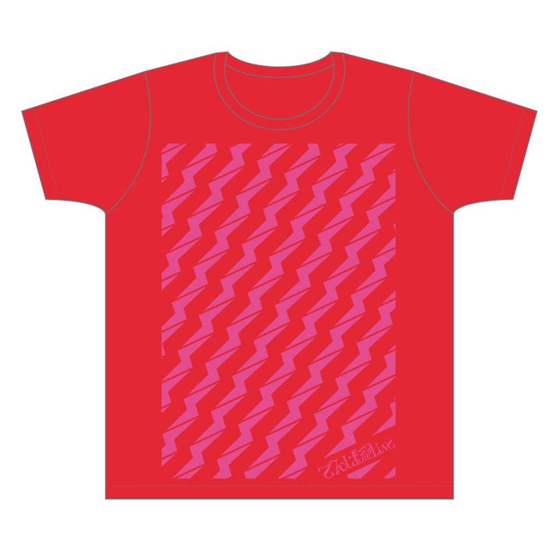 ビリビリTシャツ(レッド)