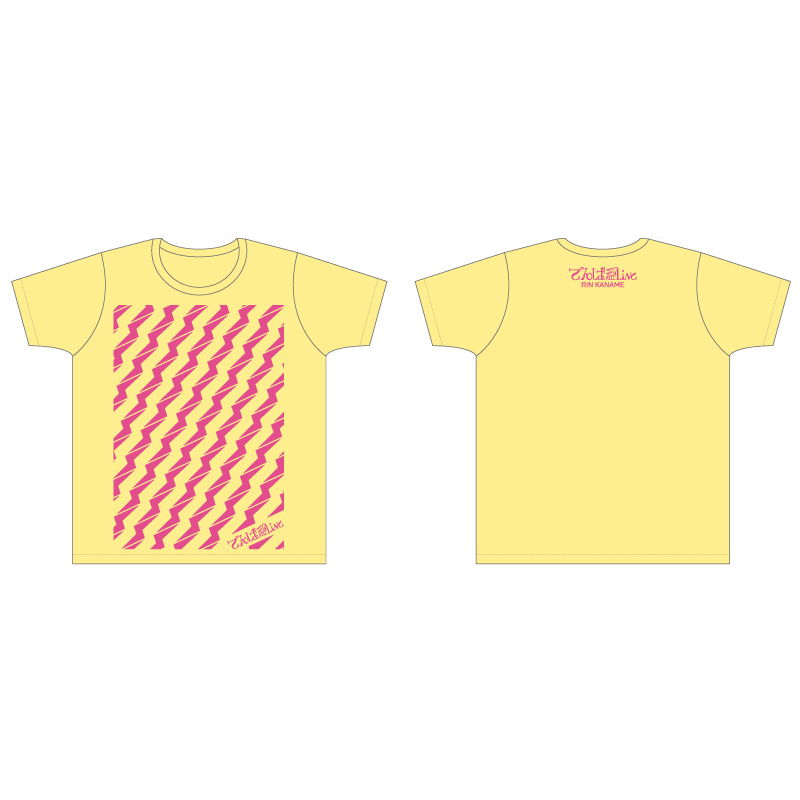 ビリビリTシャツ(エッグイエロー)