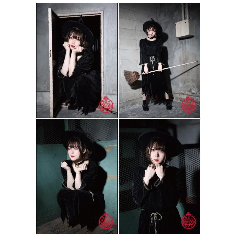 【オカルト研究部】ソロブロマイド4枚セット