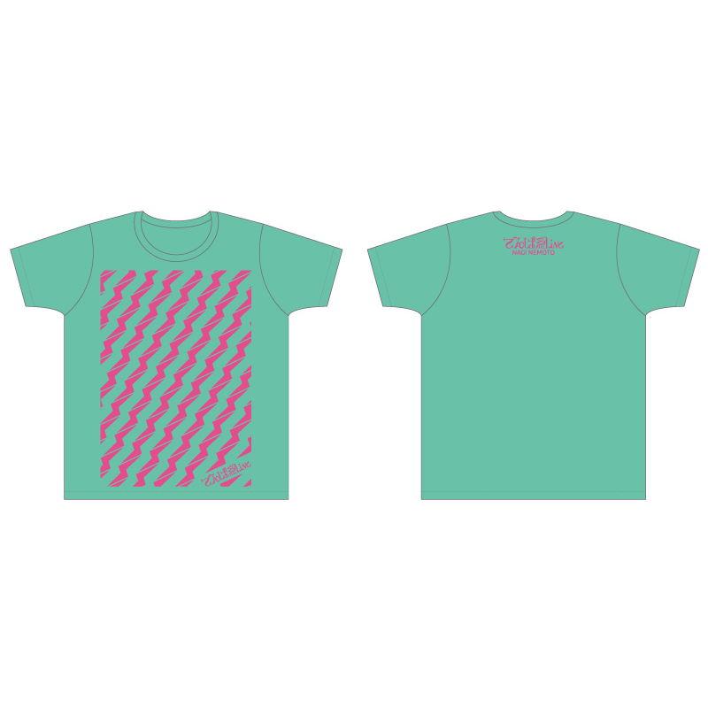 ビリビリTシャツ(ミントグリーン)