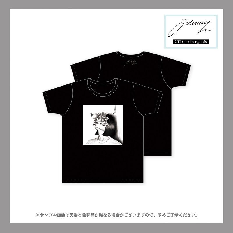 osterreich/『四肢』monochrome graphic t-shirt