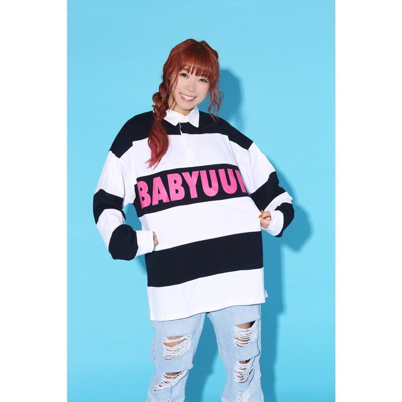 BABYUUN ラガーシャツ