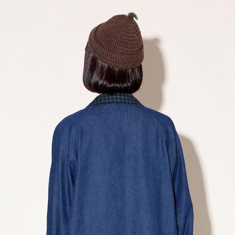 Pzzz どんぐりニット帽子
