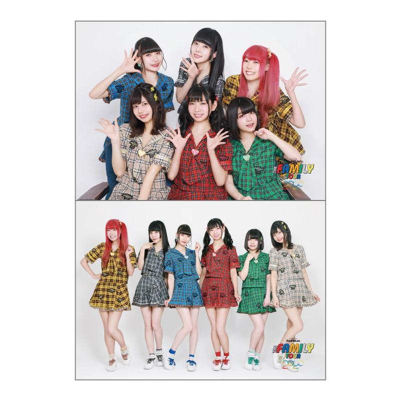 【THE FAMILY TOUR 2020】ソロ2Lブロマイド2枚セット 新衣装ver.