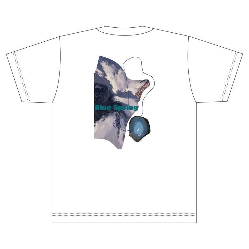【CYNHN】「Blue Spring」Tシャツ