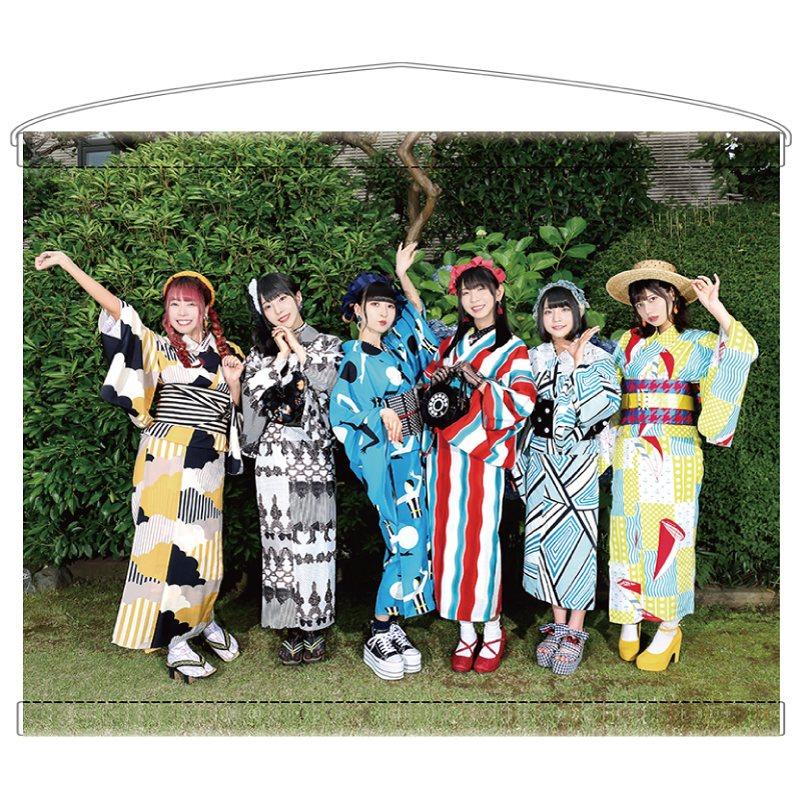 【でんぱ組.inc ×meme tokyo.】A3タペストリー(集合)