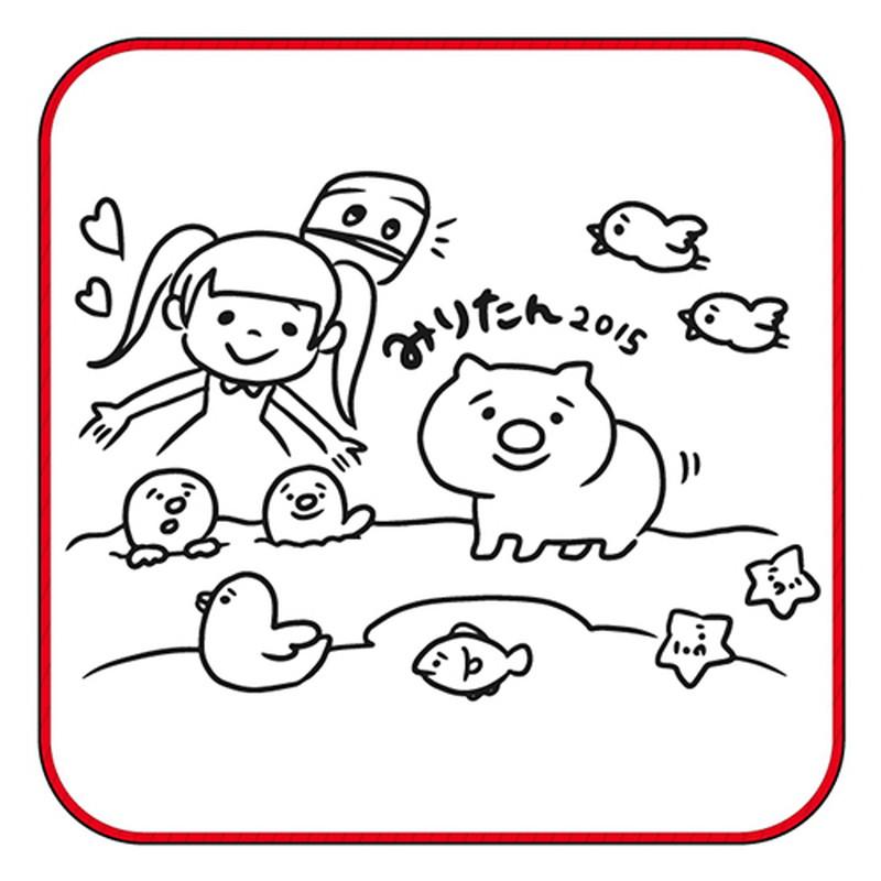 【古川未鈴 2015年生誕グッズ】ミニタオル2枚セット〔SALE対象〕 50%OFF