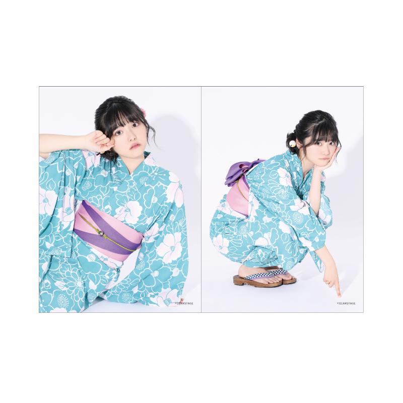 【虹コン】浴衣2Lブロマイド2枚セット