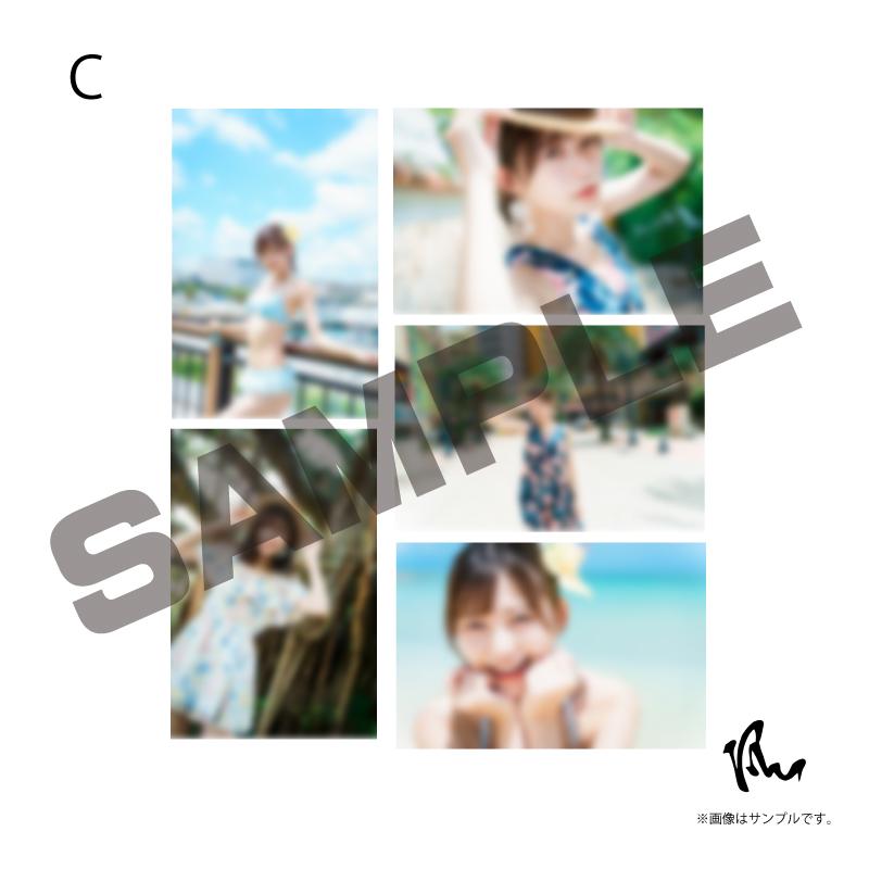 【空野青空】沖縄グラビア企画「空人〜Soranchu〜」生写真5枚セット(全3組)