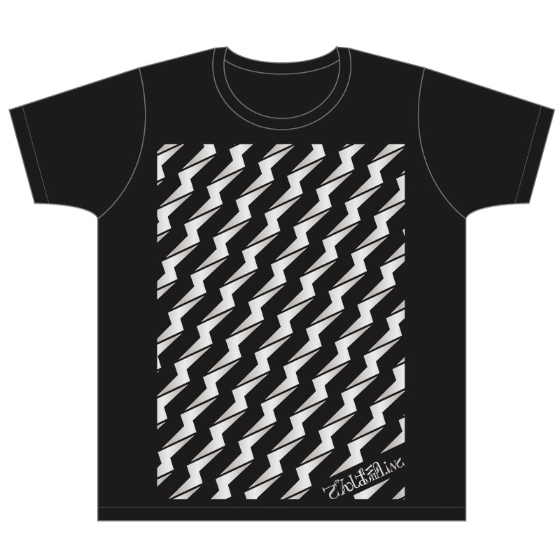 『幕張ジャンボリーコンサート』イベントTシャツ【電波大宴会ver.】黒〔SALE対象〕 30%OFF