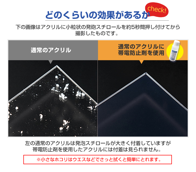 帯電防止剤50ml【薄めて使うタイプ】