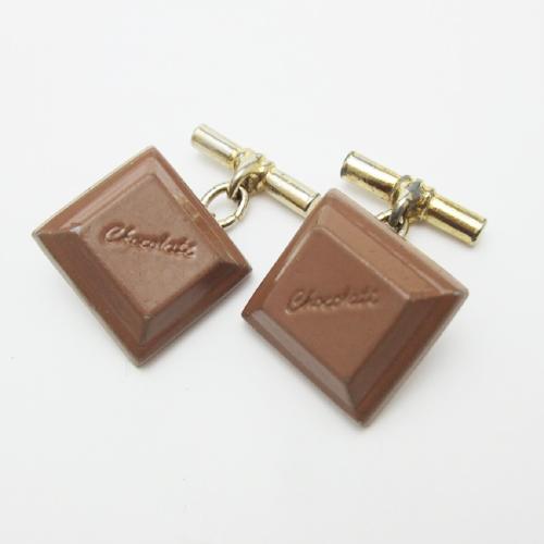 SOLD-ヴィンテージ チョコレート カフス