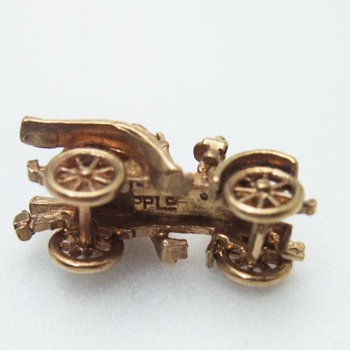 sold 9金 ゴールド クラッシックカー チャーム