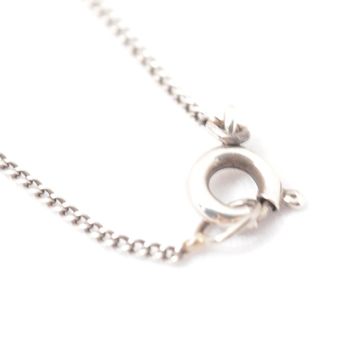 14金 バロックパール&ダイヤモンド アールデコネックレス(チェーン付き)