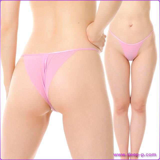 布1枚感覚でくい込むハーフバックパンティ 柔らかくしなやかで微妙に透けます SMF ピンク色 | ターキー | ●