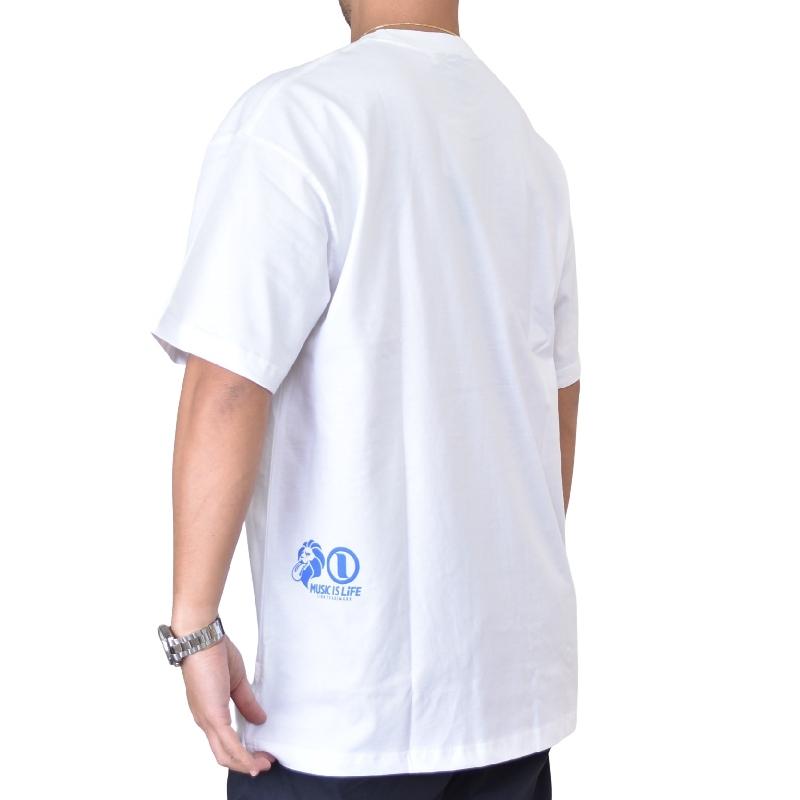大きいサイズ メンズ ネスタブランド NESTA BRAND ビッグシルエット 3D グラデ ロゴ Tシャツ XXL XXXL 【メール便対応】 [M便 1/1]