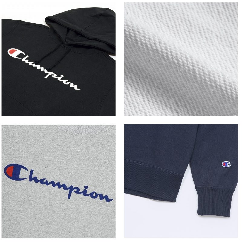 【SALE】 大きいサイズ メンズ チャンピオン Champion スウェット プルオーバーパーカー 裏毛 3L 4L 5L  [CH-008-C]