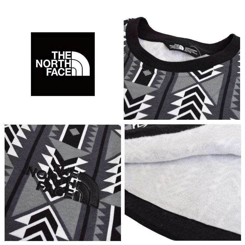 大きいサイズ メンズ ノースフェイス THE NORTH FACE '92 RAGE FLEECE CREW スウェットシャツ クルー トレーナー 裏起毛 USAモデル 黒 XL XXL