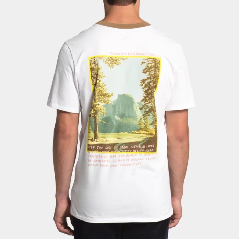 大きいサイズ メンズ ノースフェイス 半袖 グラフィック バックプリント Tシャツ リンガー Rogue Graphic Tee USAモデル THE NORTH FACE XL XXL 【メール便対応】 [M便 1/1]