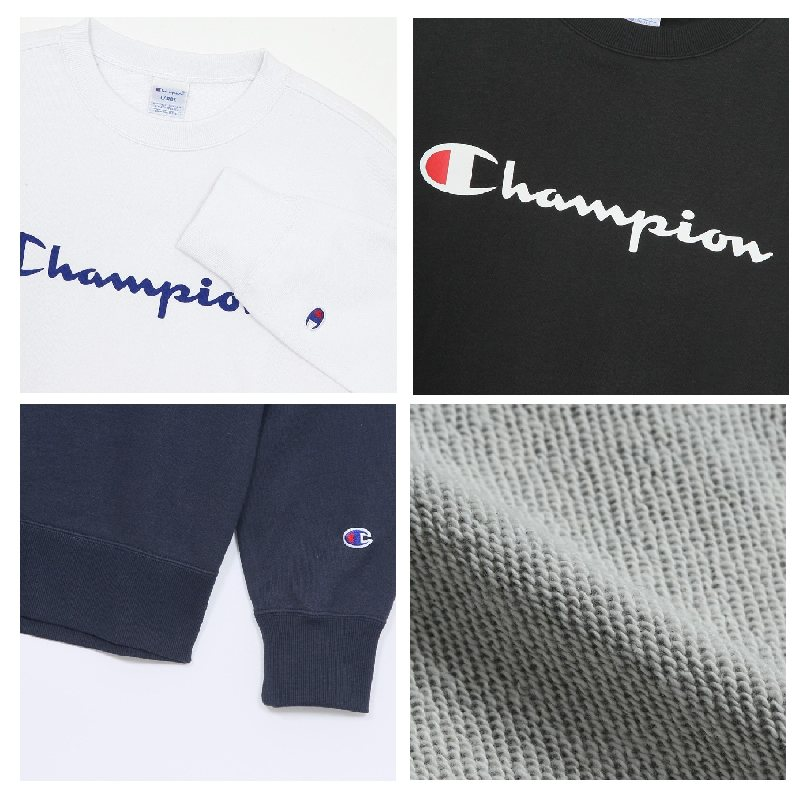 【SALE】 大きいサイズ メンズ チャンピオン Champion クルーネック スウェットシャツ トレーナー 裏毛 3L 4L 5L  [CH-011-B]