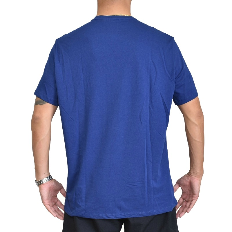 大きいサイズ メンズ アルマーニエクスチェンジ A/X ARMANI EXCHANGE クルーネック 半袖Tシャツ REGULAR FIT 青 ブルー XL XXL 【メール便対応】 [M便 1/1]
