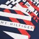 大きいサイズメンズ TOMMY HILFIGER トミーヒルフィガー 半袖Tシャツ クルーネック ロゴプリント ネイビー XL XXL 【メール便対応】 [M便 1/1]