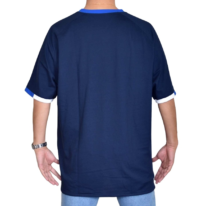 大きいサイズメンズ TOMMY HILFIGER SPORT トミーヒルフィガースポーツ 半袖Tシャツ ヘンリーネック ポリエステル ロゴプリント XL XXL XXXL 【メール便対応】 [M便 1/1]