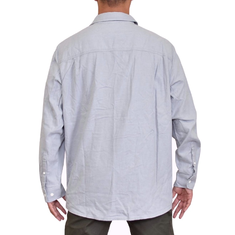 大きいサイズ メンズ ノースフェイス THE NORTH FACE 無地 長袖 シャツ ネルシャツ STAYSIDE CHAMOIS USAモデル XL XXL