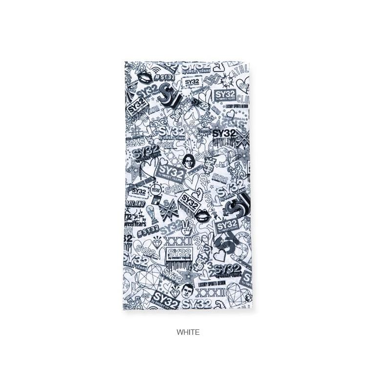 SY32 by SWEET YEARS スウィートイヤーズ NECK GAITER ネックゲーター マスク ネックウォーマー 紫外線対策 日焼け 【メール便対応】 [M便 1/1]