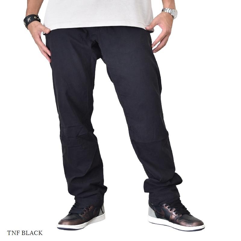 大きいサイズ メンズ ノースフェイス THE NORTH FACE コットンパンツ ストレッチ TKA Glacier Pants 黒 ブラック USAモデル 38 40インチ